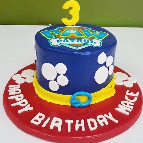 Paw Patrol Kids Custom Birthday Cake New Jersey Bakery
