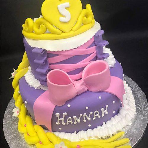Rapunzel Custom Birthday Cake