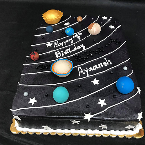 Wondrous Solar System Custom Birthday Cake Gourmet Desserts Nj Local Bakery Funny Birthday Cards Online Elaedamsfinfo