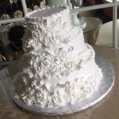 Simple Wedding Cakes: Simple & Elegant White Wedding Cake